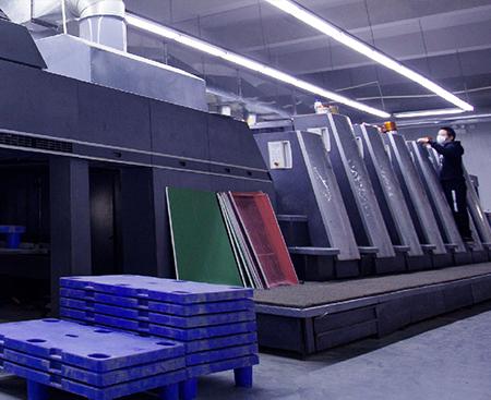 海德堡CD75-6+1UV印刷