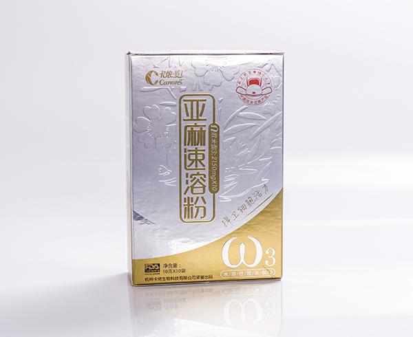 亚麻速溶粉-卡纸盒
