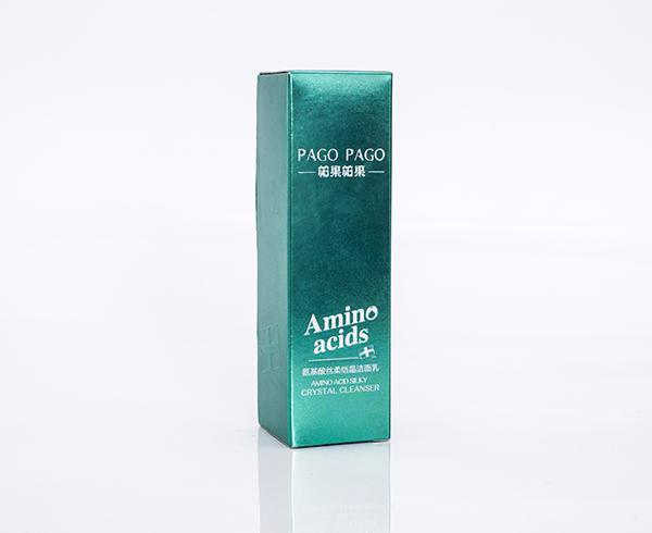 帕果帕果-氨基酸洁面乳-银卡盒