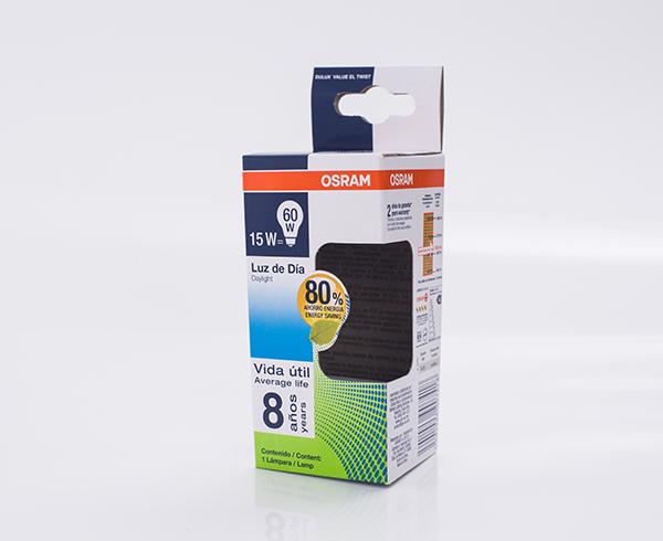 OSRAM灯泡盒-卡纸盒